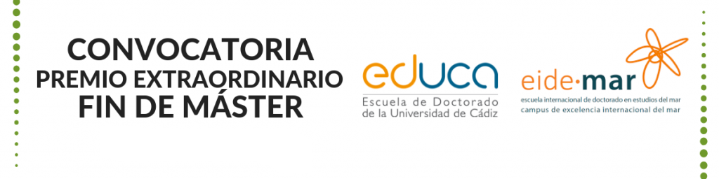 Convocatoria de Premio Extraordinario Fin de Máster correspondientes al curso académico 2019/20
